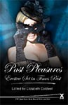 Novel with a woman in Victorian-style clothing holding a mask to her face on the cover.