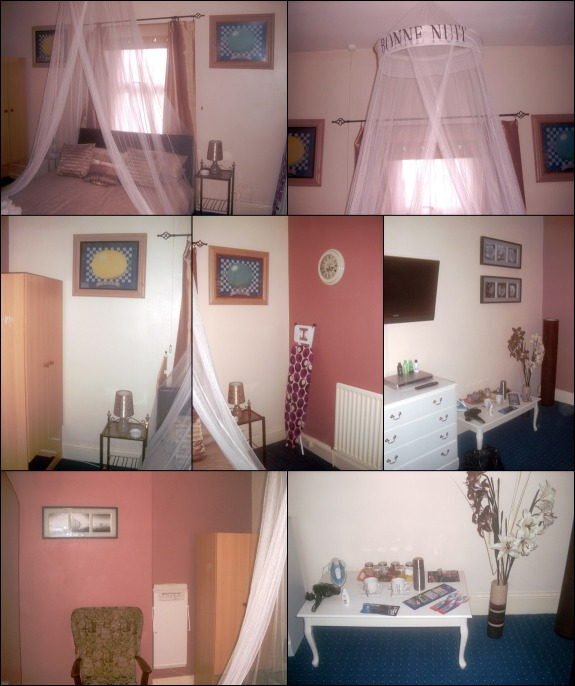 Photographs of the lovely Beige Room