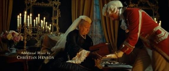 The Queen receiving her vibrator.