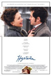 The DVD cover of Hysteria, featuring the last scene from the film.