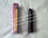 Lady Finger Black and Lady Finger Cream in packaging